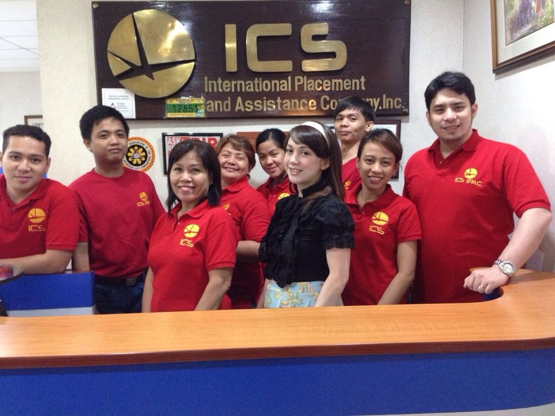 Atty. Camua as Legal Manager of ICS-IPAC.