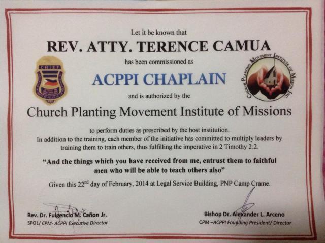 ACPPI Chaplain