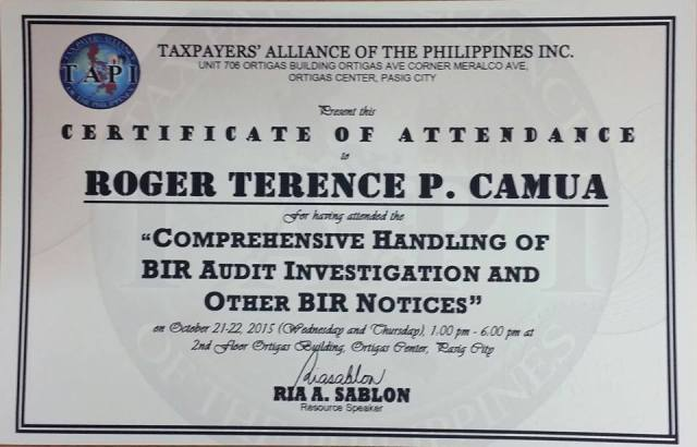 TAPI Case Handling